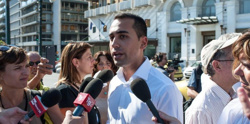 Il vicepresidente della Camera Luigi Di Maio.