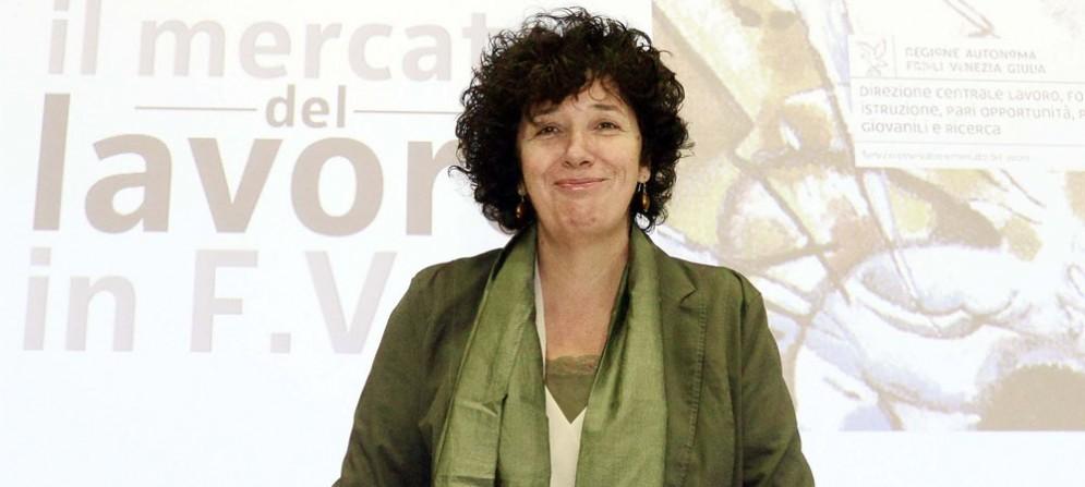 Loredana Panariti (Assessore regionale Lavoro, Formazione, Istruzione, Pari Opportunità, Politiche giovanili