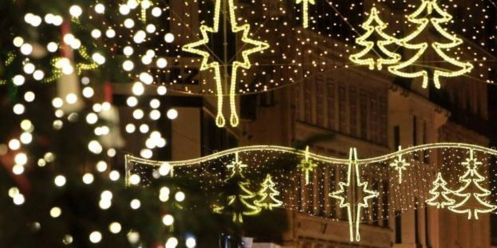 Luci di Natale a Udine