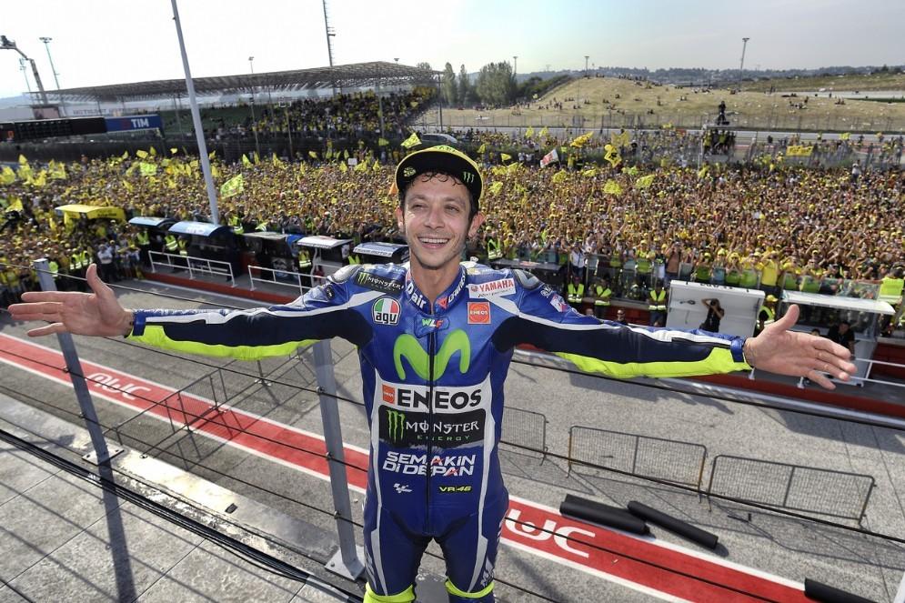 Valentino Rossi e i suoi tifosi