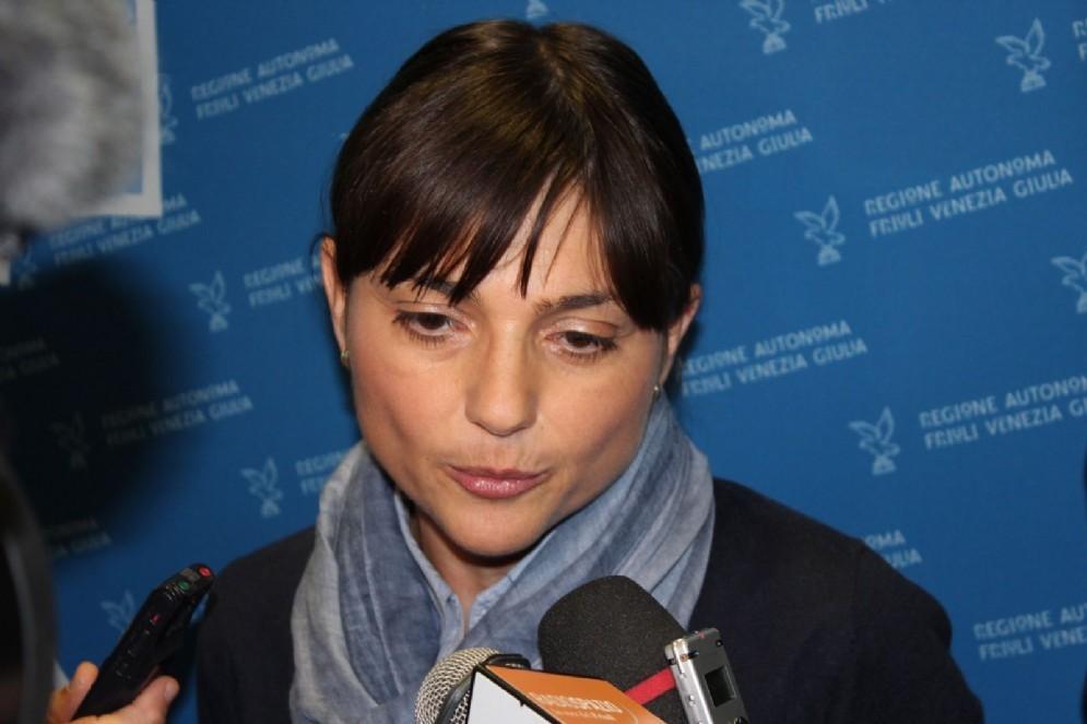 La governatrice Debora Serracchiani