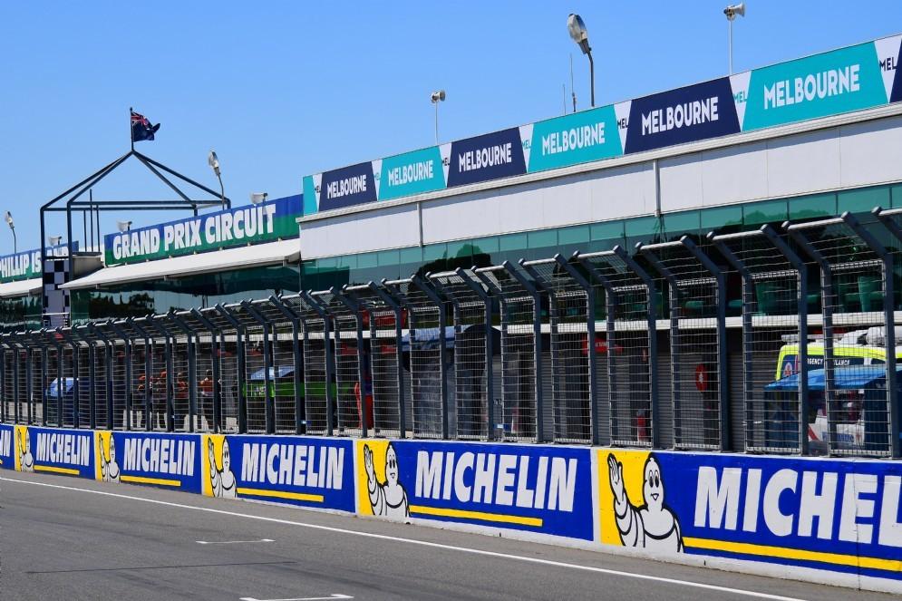 Il rettilineo principale del circuito di Phillip Island