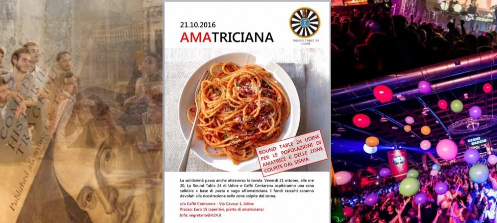 Molti gli eventi e gli appuntamenti in programma questo venerdì a Udine e provincia