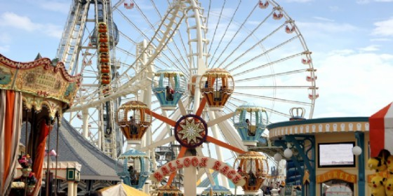 Luna park le giostre tornano in piazza primo maggio for Giostre luna park usate