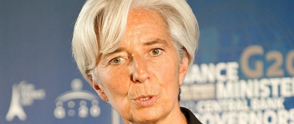 Christine Lagarde, presidente del Fondo monetario internazionale (Fmi)