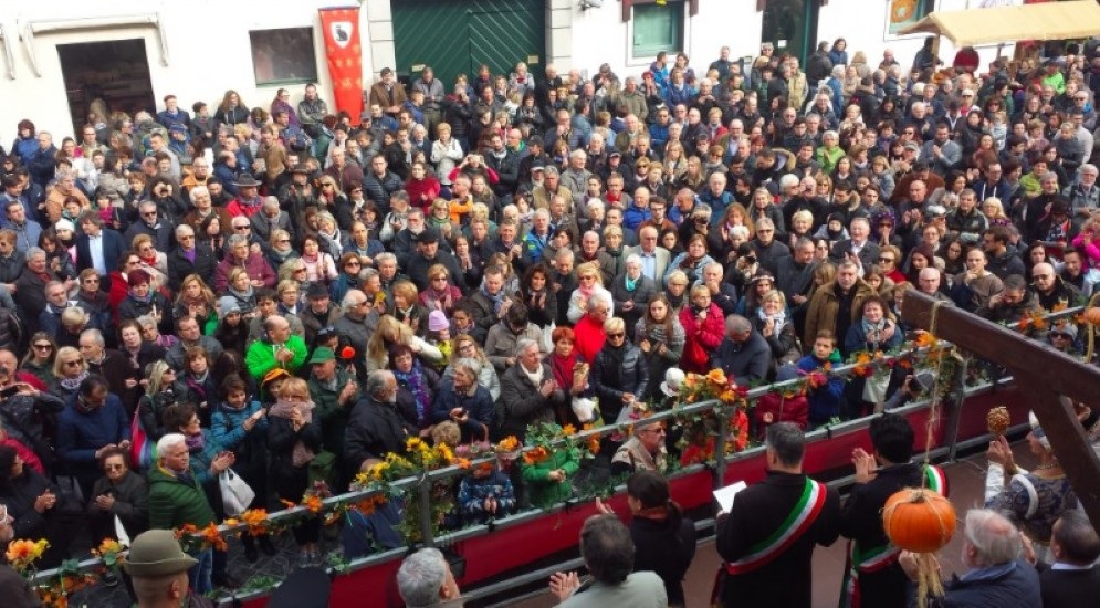 Molta affollata la festa della Zucca a Venzone