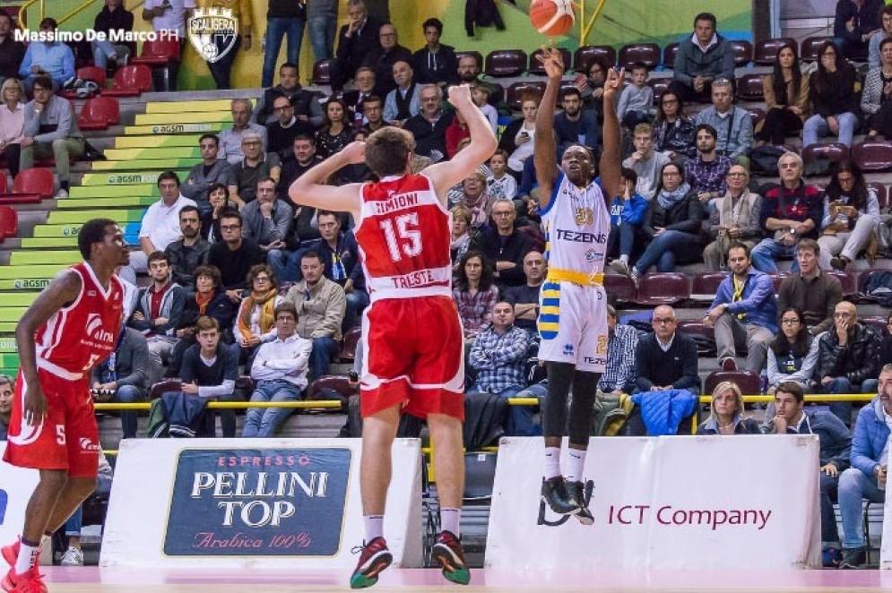 Trieste esce sconfitta dal campo di Verona