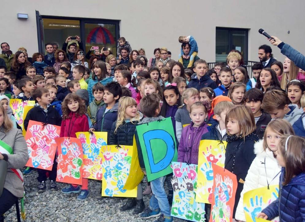 I tanti bambini che hanno partecipato all'evento