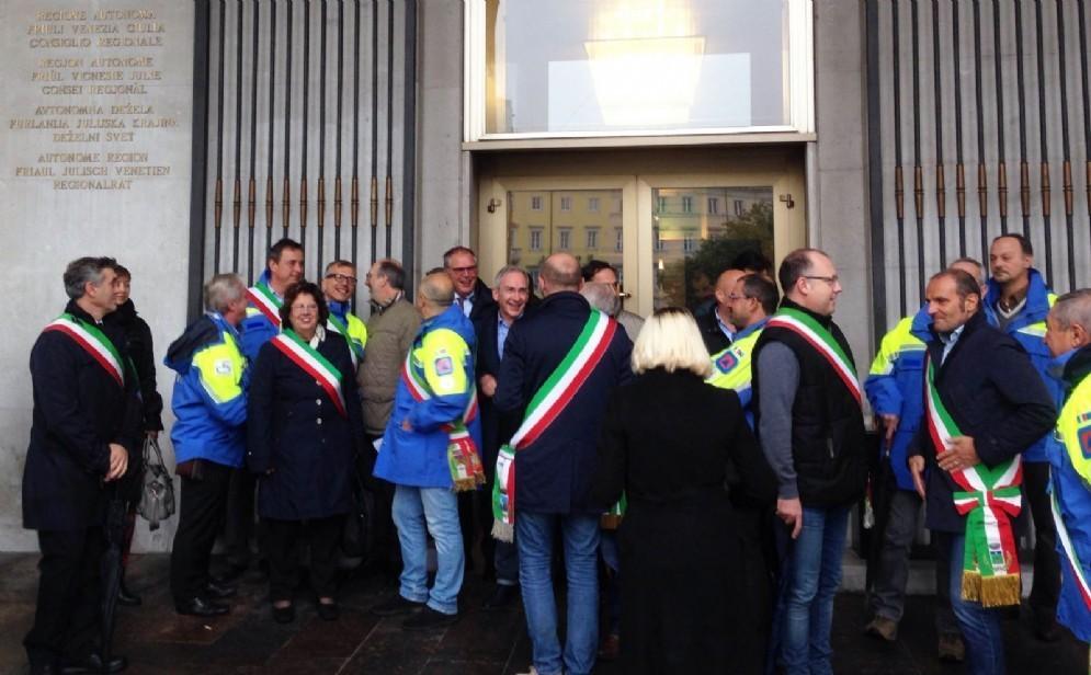 L'incontro in Consiglio regionale con l'assessore alle autonomie locali e alle riforme Paolo Panontin