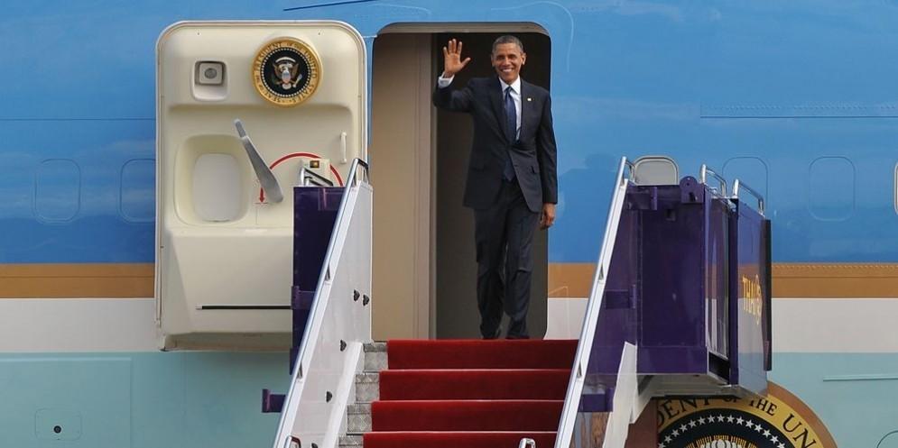 Il presidente Usa Barack Obama.