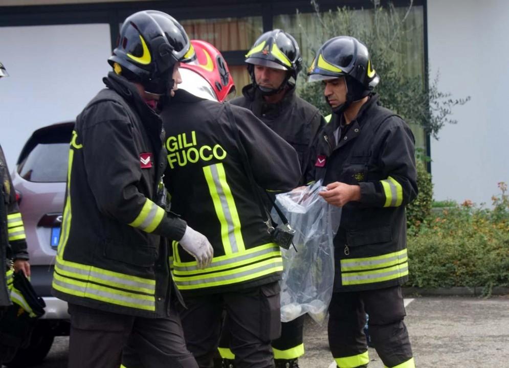 Per i vigili del fuoco sono intervenuti anche unità specializzate