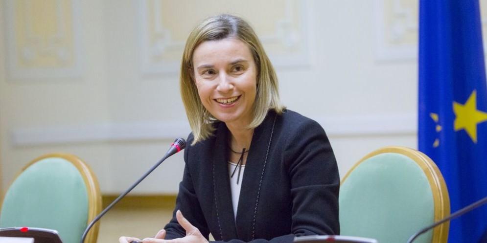 L'Alto rappresentante per la Politica estera e di Sicurezza comune Federica Mogherini.