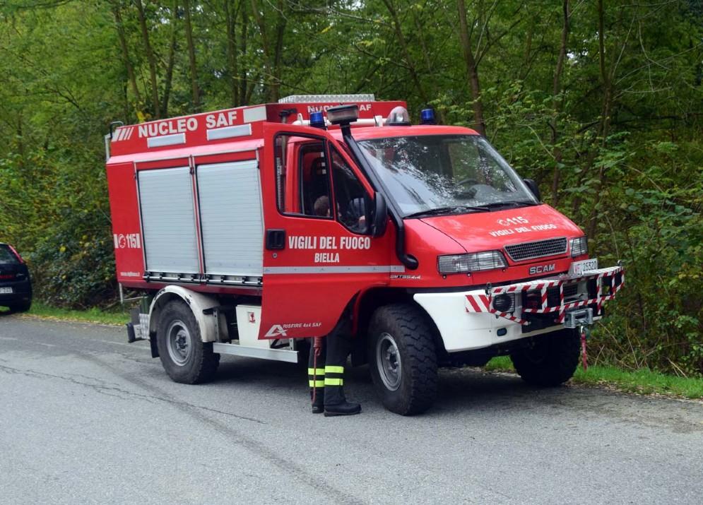Per i vigili del fuoco sono intervenuti gli specialisti del Saf