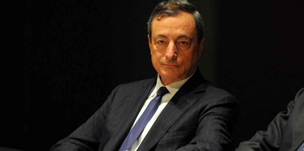 Il presidente della BCE Mario Draghi.