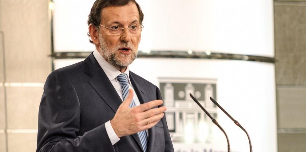 Il premier conservatore Mariano Rajoy.