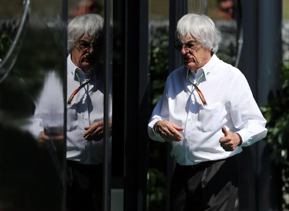 Il patron della Formula 1 Bernie Ecclestone