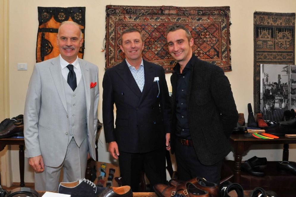 Diego Brasioli, Paolo Drago, Andrea Barbera