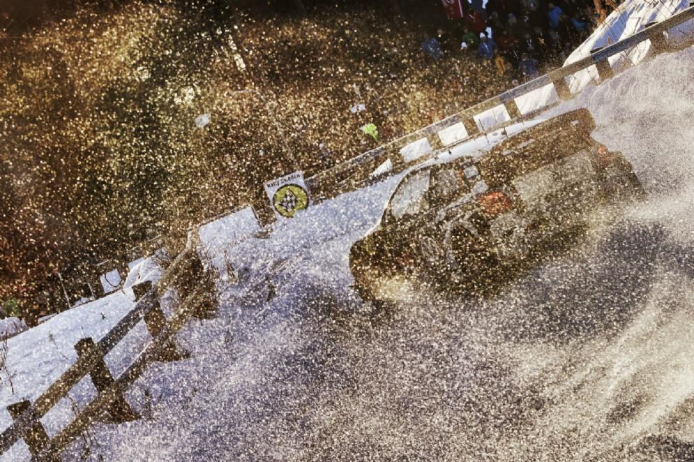 Il campione del mondo in azione nel Rally di Svezia 2015