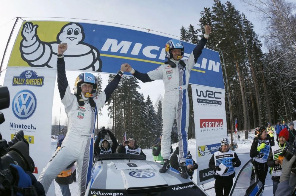 La prima vittoria Volkswagen: Rally di Svezia 2013