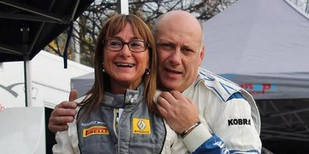 L'equipaggio Antonello Veronese e Roberta Passone