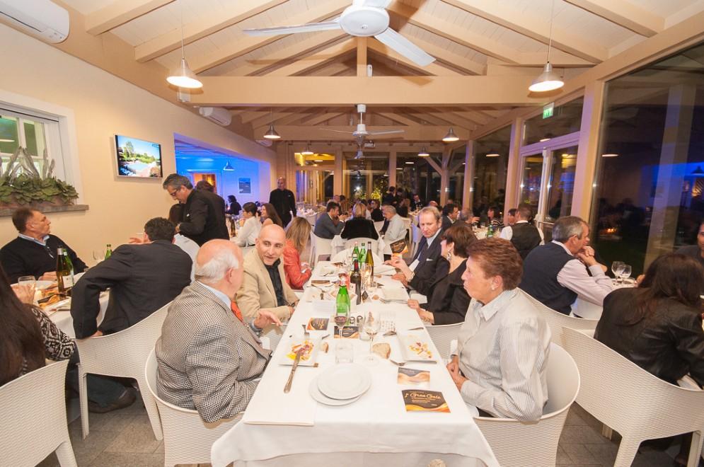 Particolarmente apprezzata anche la cena, preparata dallo chef Paolo Pagani con i prodotti delle aziende partecipanti.