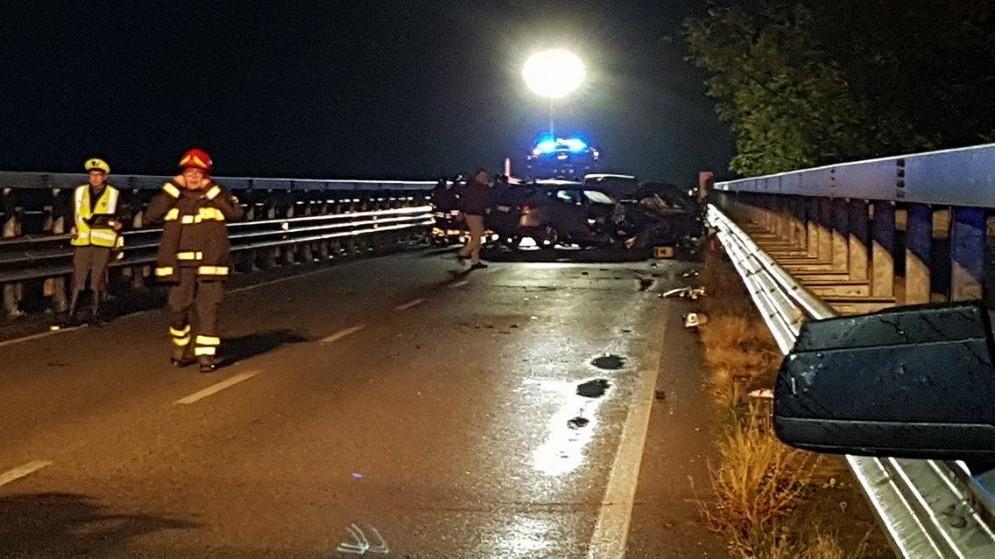 Il tremendo incidente sulla Ferrata (© Diario di Udine)