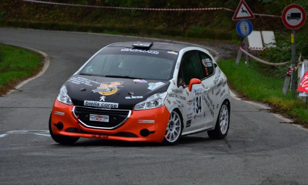 Vittoria di classe per Vineis- Rodi (Peugeot 208 R2B)