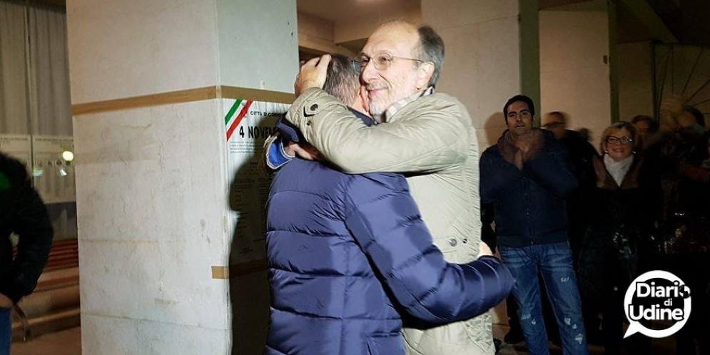 Riccardo Riccardi abbraccia Marchetti