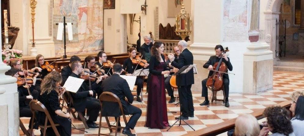 Un concerto dell'orchestra San Marco