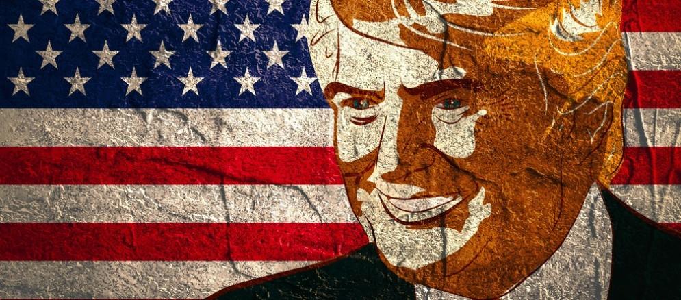 Il neopresidente degli Usa Donald Trump