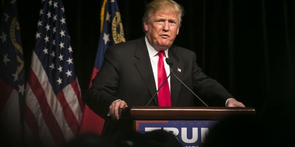 Il nuovo presidente americano Donald Trump.