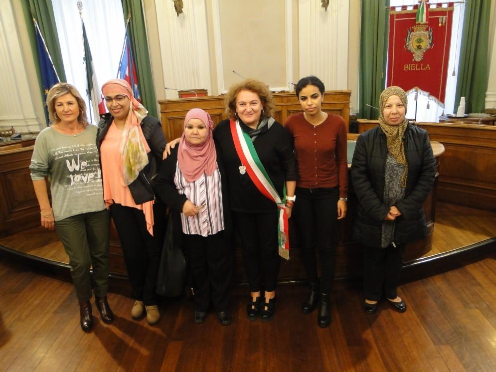 Le nuove cittadine italiane a Palazzo Oropa