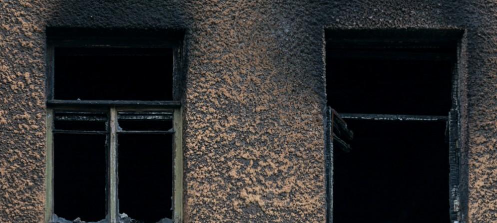 Incendio in via Revoltella