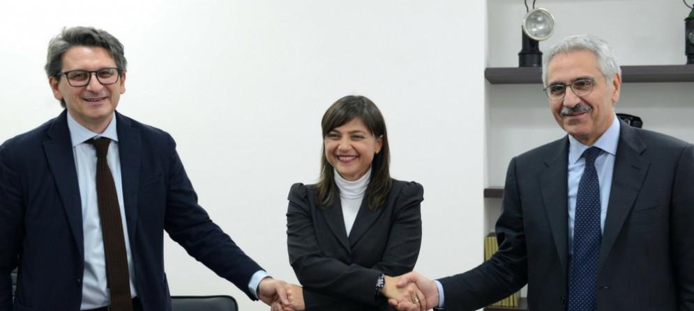 Zeno d'Agostino, Debora Serracchiani, Maurizio Gentile