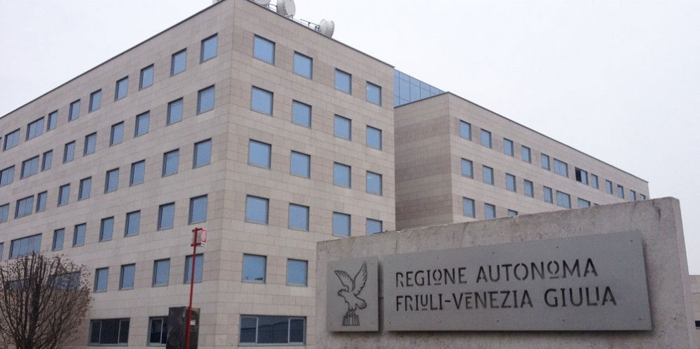 La sede della Regione Fvg