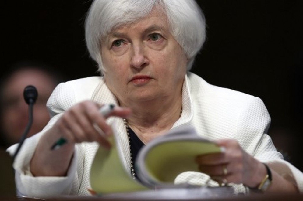 La presidente della Fed, Janet Yellen.