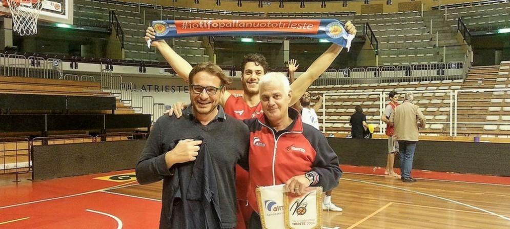 Stefano Piccardo, Andrea Coronica ed Eugenio Dalmassons
