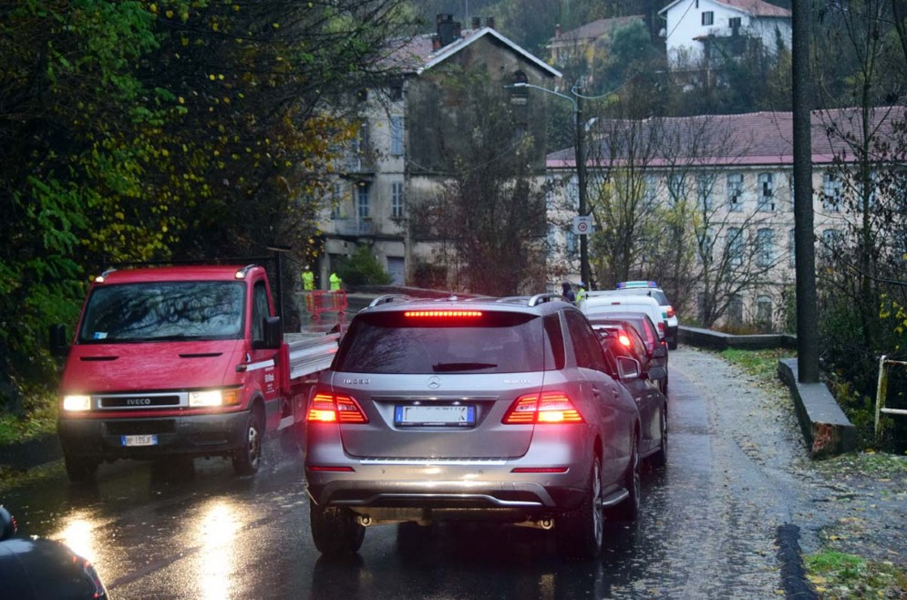 Auto dalla Valle Cervo verso il capoluogo provinciale