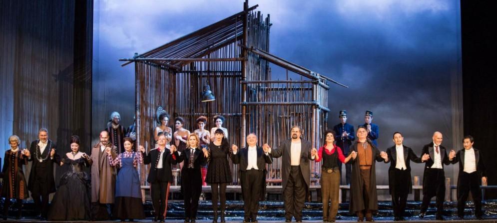 La prima del Rigoletto al teatro Verdi di Trieste
