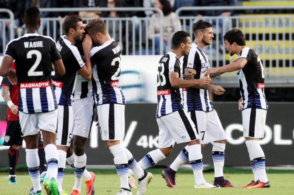 L'Udinese perde con il Cagliari