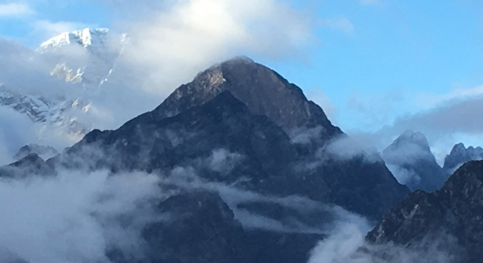 La cima del Monte Frugna
