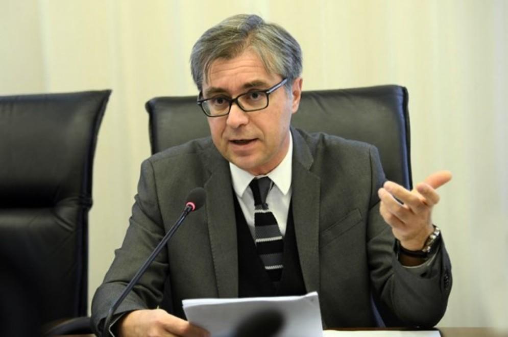 L'assessore regionale alle Finanze Francesco Peroni