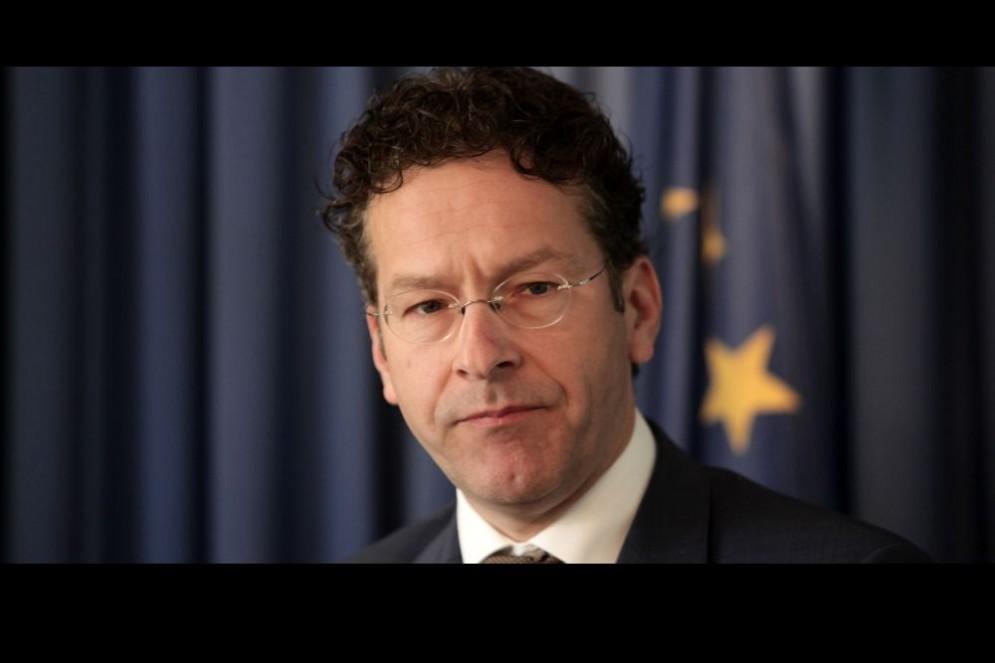 Il presidente dell'Eurogruppo, Jeroen Dijsselbloem.
