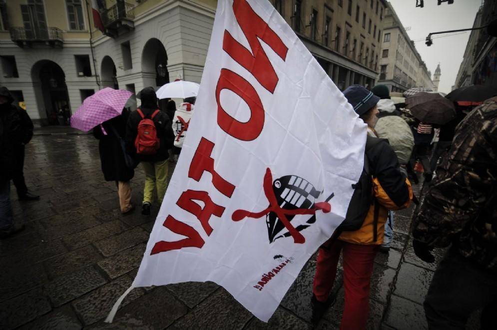 Manifestazione No Tav a Torino