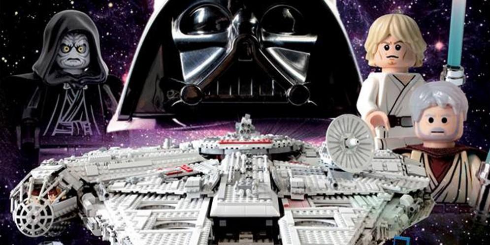 Star Wars is back: esposizione di mattoncini Lego©
