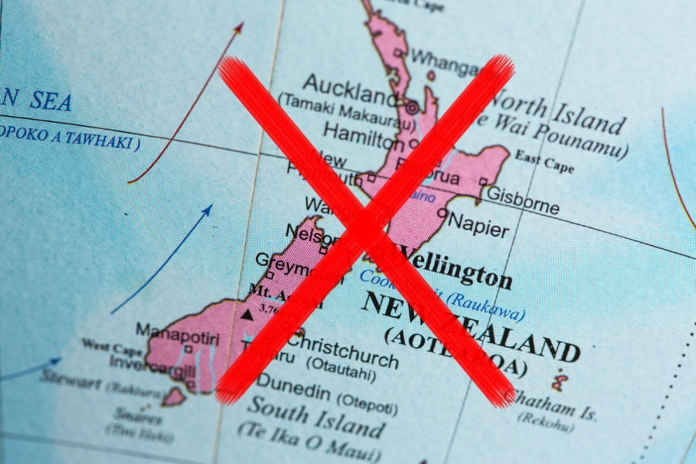 La Nuova Zelanda non esiste, per la polizia del Kazakistan