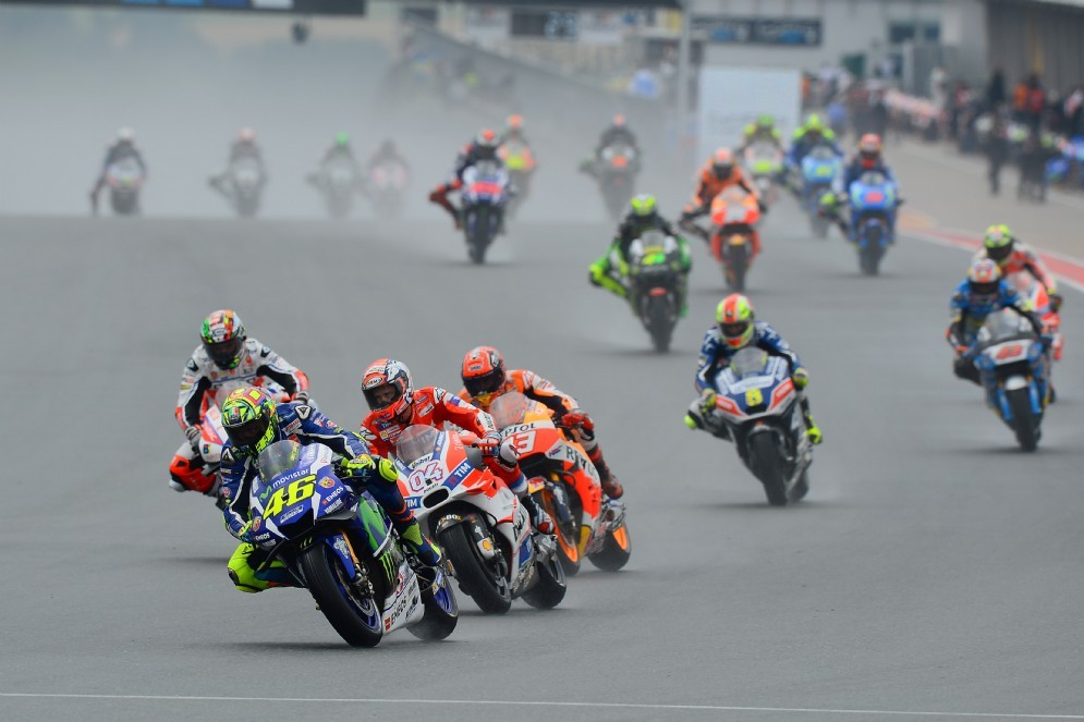 La partenza dell'ultimo Gran Premio di Germania