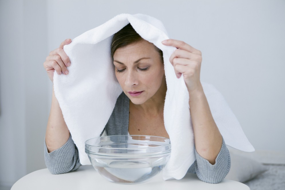 Suffumigi con eucalipto per influenza e raffreddore