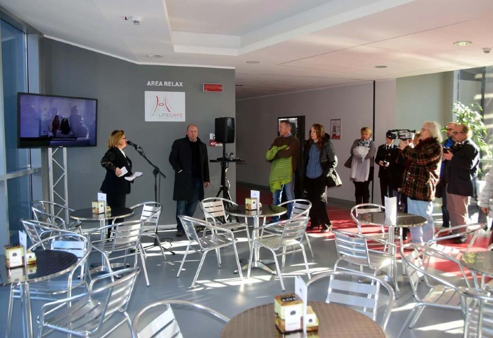 Telecamere, fotografie durante la presentazione di ieri