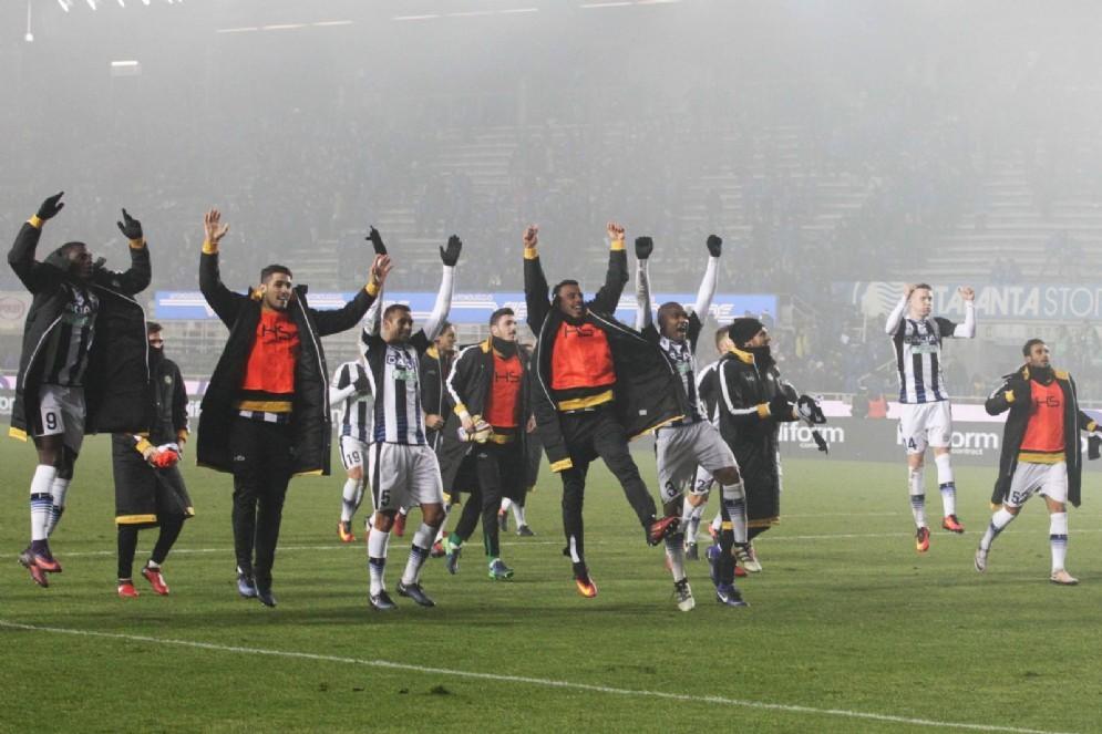 L'Udinese espugna Bergamo (© Diario di Udine)